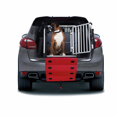 4pets ProLine Scratch Guard Car Red (Small)