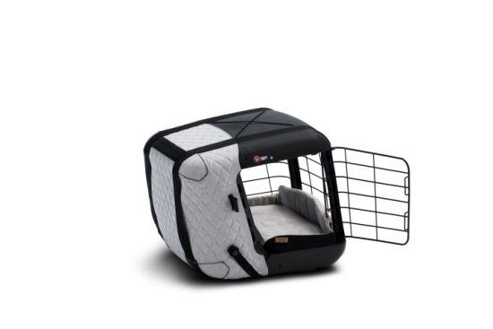 4pets Caree Coll Grey side open (Small)
