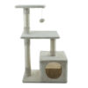 500px_44501 Cat sratcher Belle beige 50x30x80cm